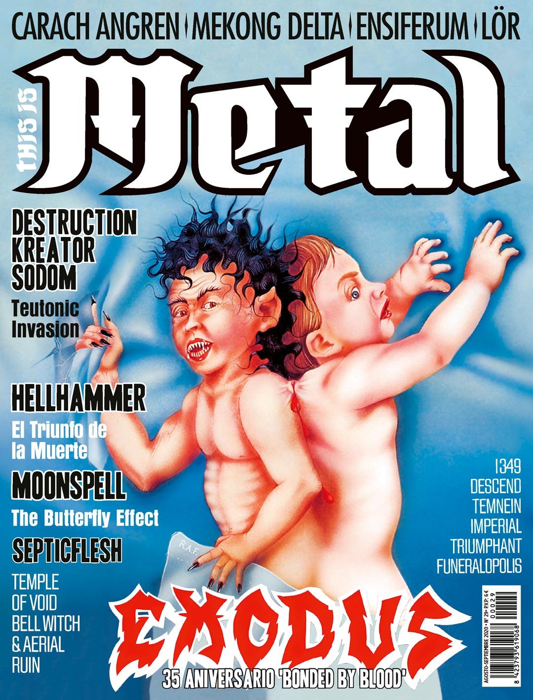 TIM 029 Agosto Septiembre This Is Metal Infernal Magazine thisismetal.es