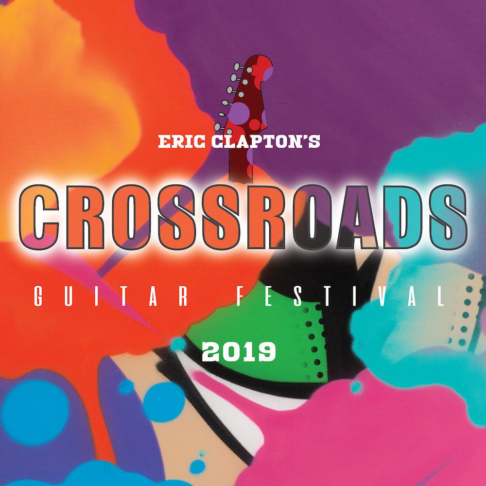 Eric Clapton Crossroads Guitar Festival 2019 Portada