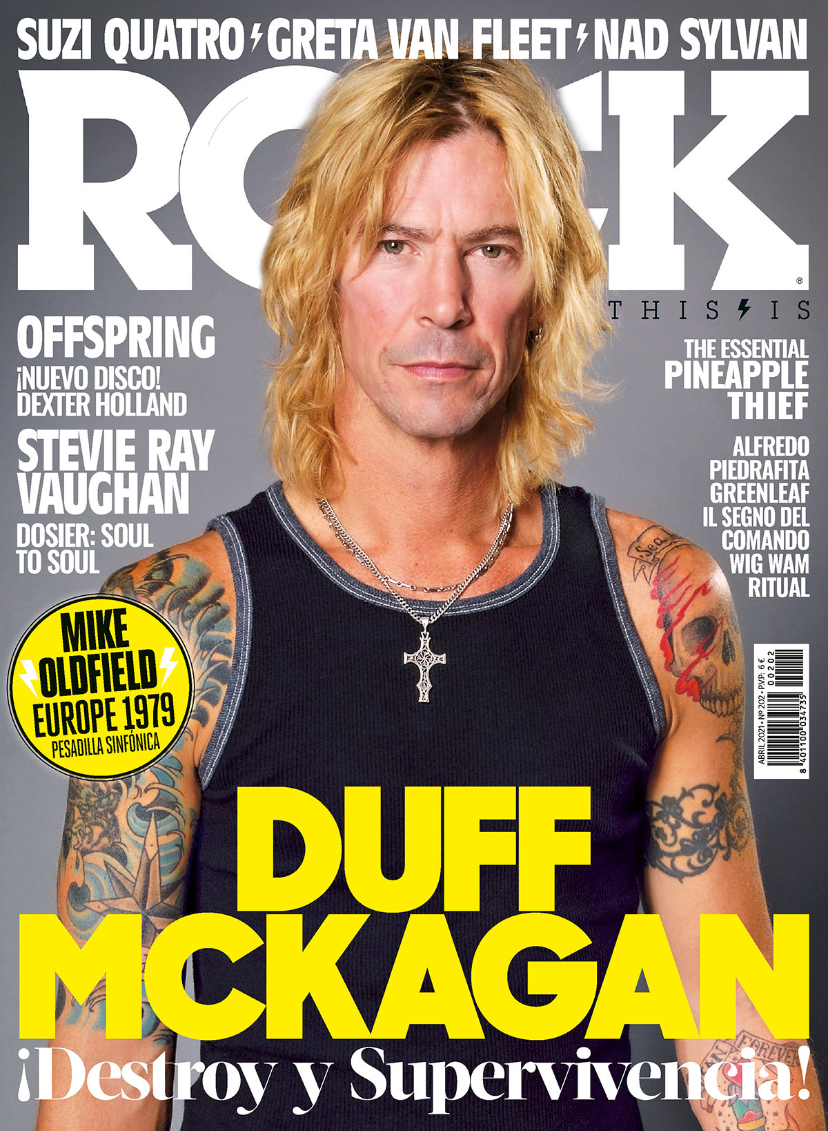 202 Abril This Is Rock una revista de Rock tambien para leer Classic Rock Hard Rock Heavy Metal Prog Rock Blues