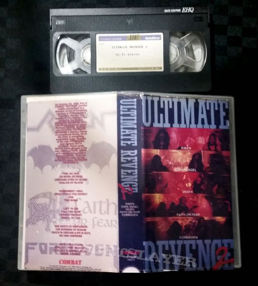 Combat Records The Ultimate Revenge 2 VHS