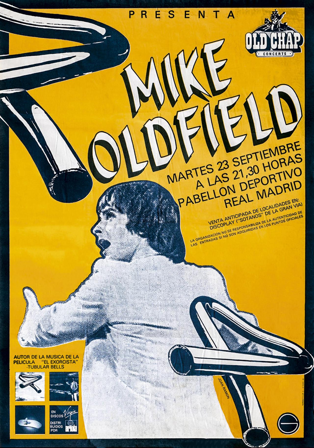 Mike Oldfield Los Conciertos en España 3
