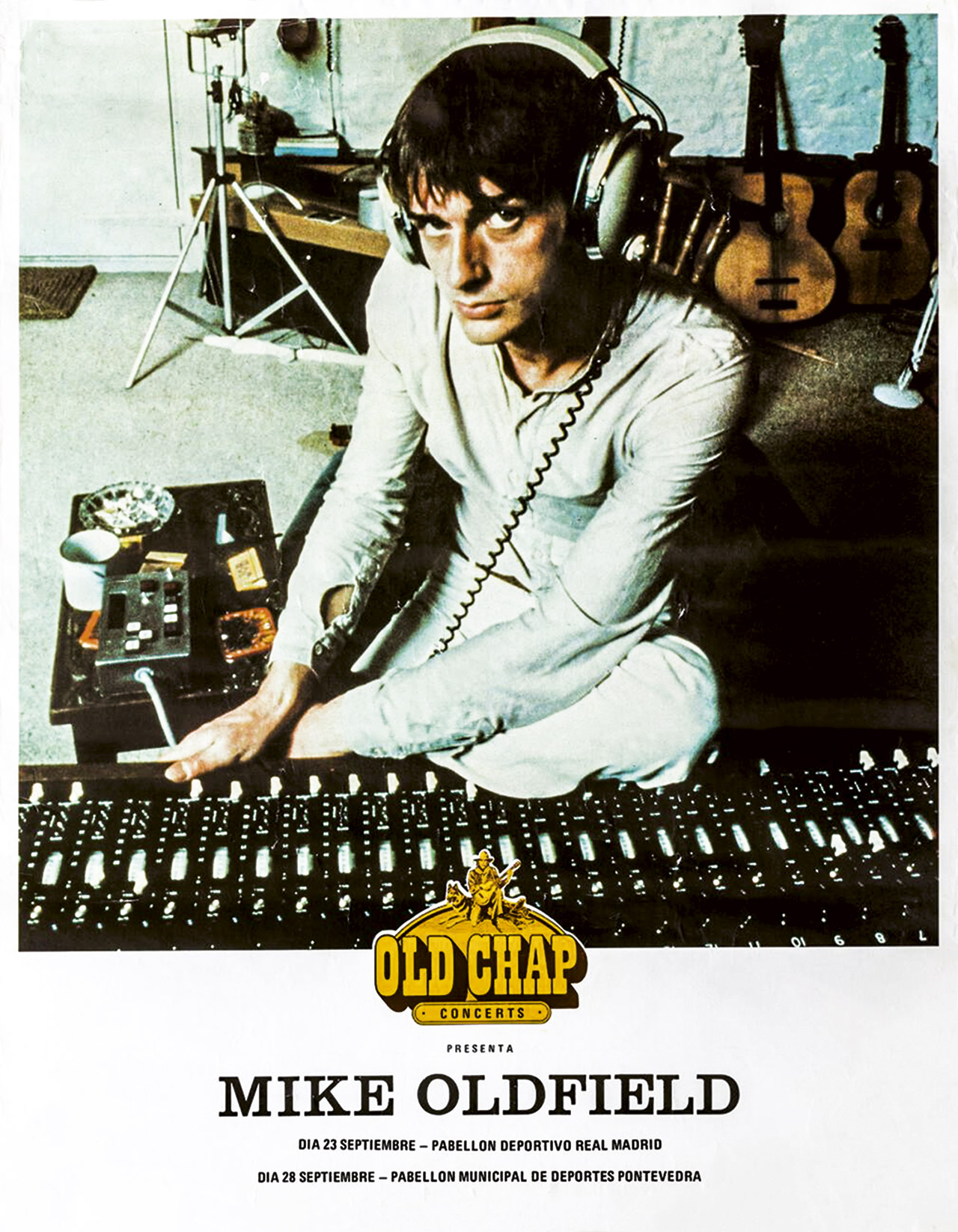 Mike Oldfield Los Conciertos en España 4