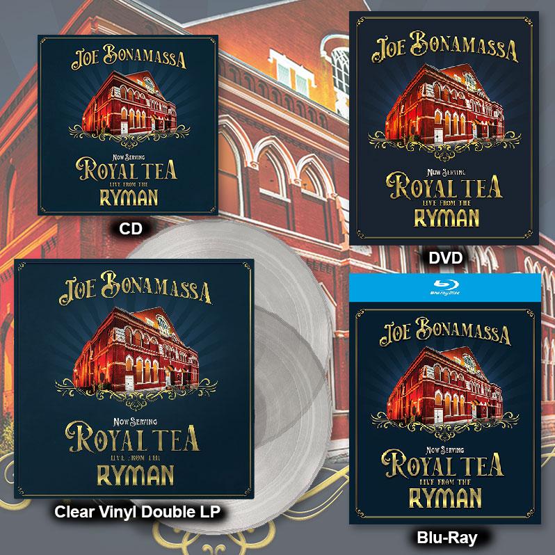 Joe Bonamassa Now Serving Royal Tea Live From The Ryman