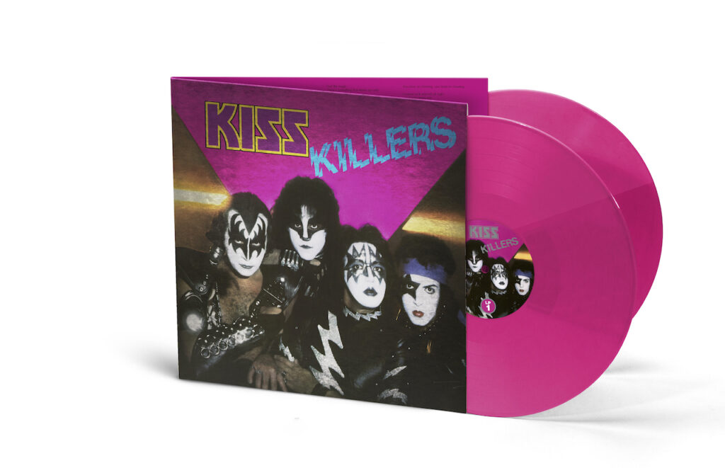 kiss killers pink this is rock