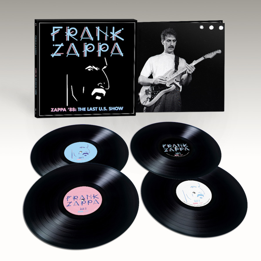 this is rock frank Zappa '88 The Last U.S. Show 2