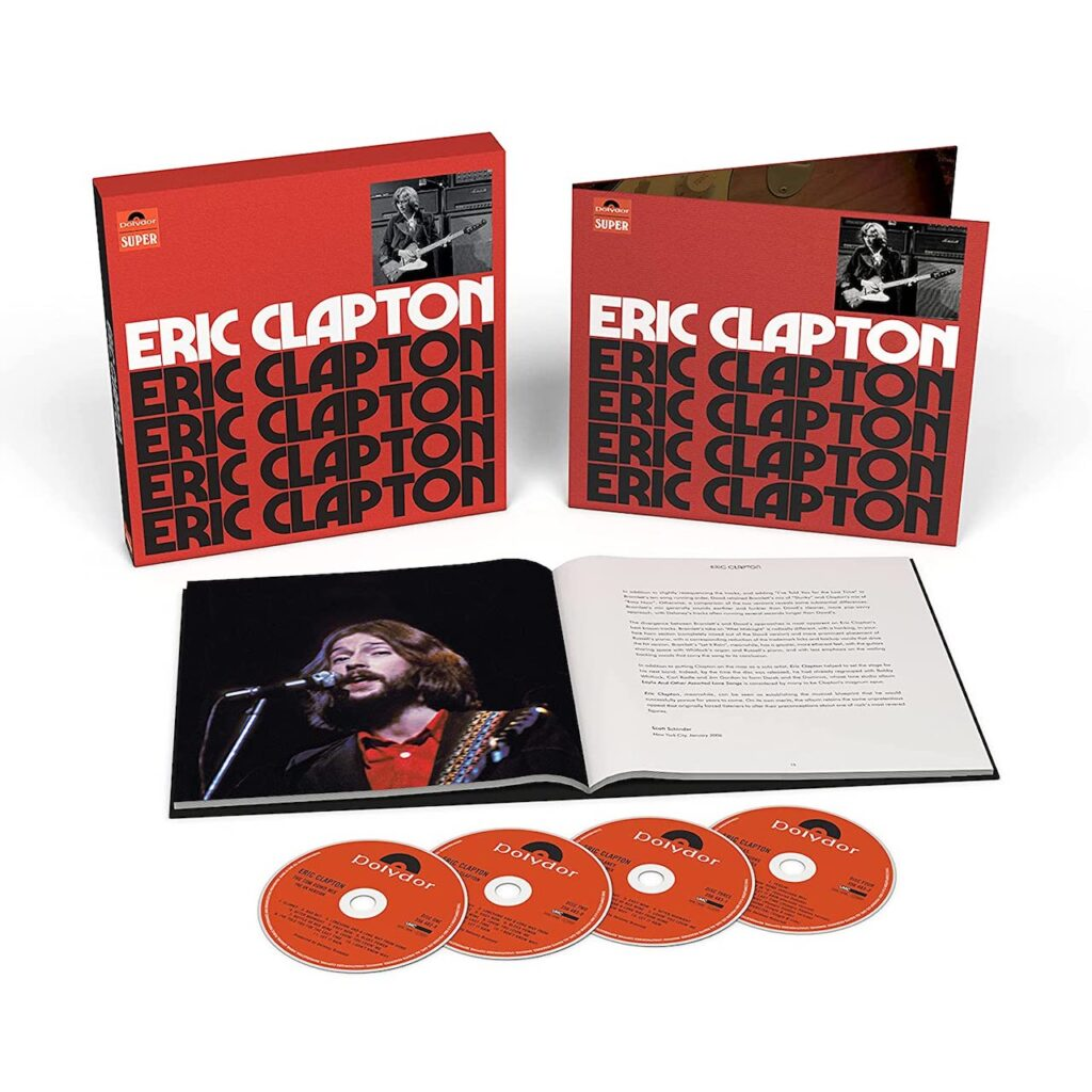 Eric Clapton Anniversary Deluxe Edition 2021