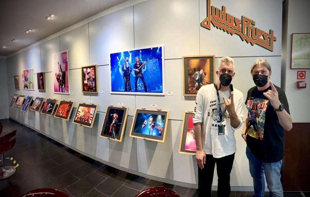 Sergio Blanco FNAC Asturias Exposición Fotográfica Judas Priest