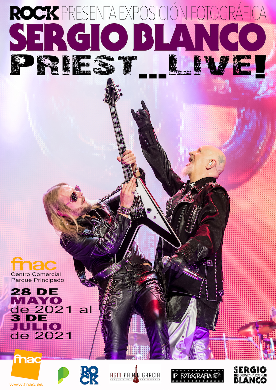 Sergio Blanco FNAC Asturias Exposición Fotográfica Judas Priest_6