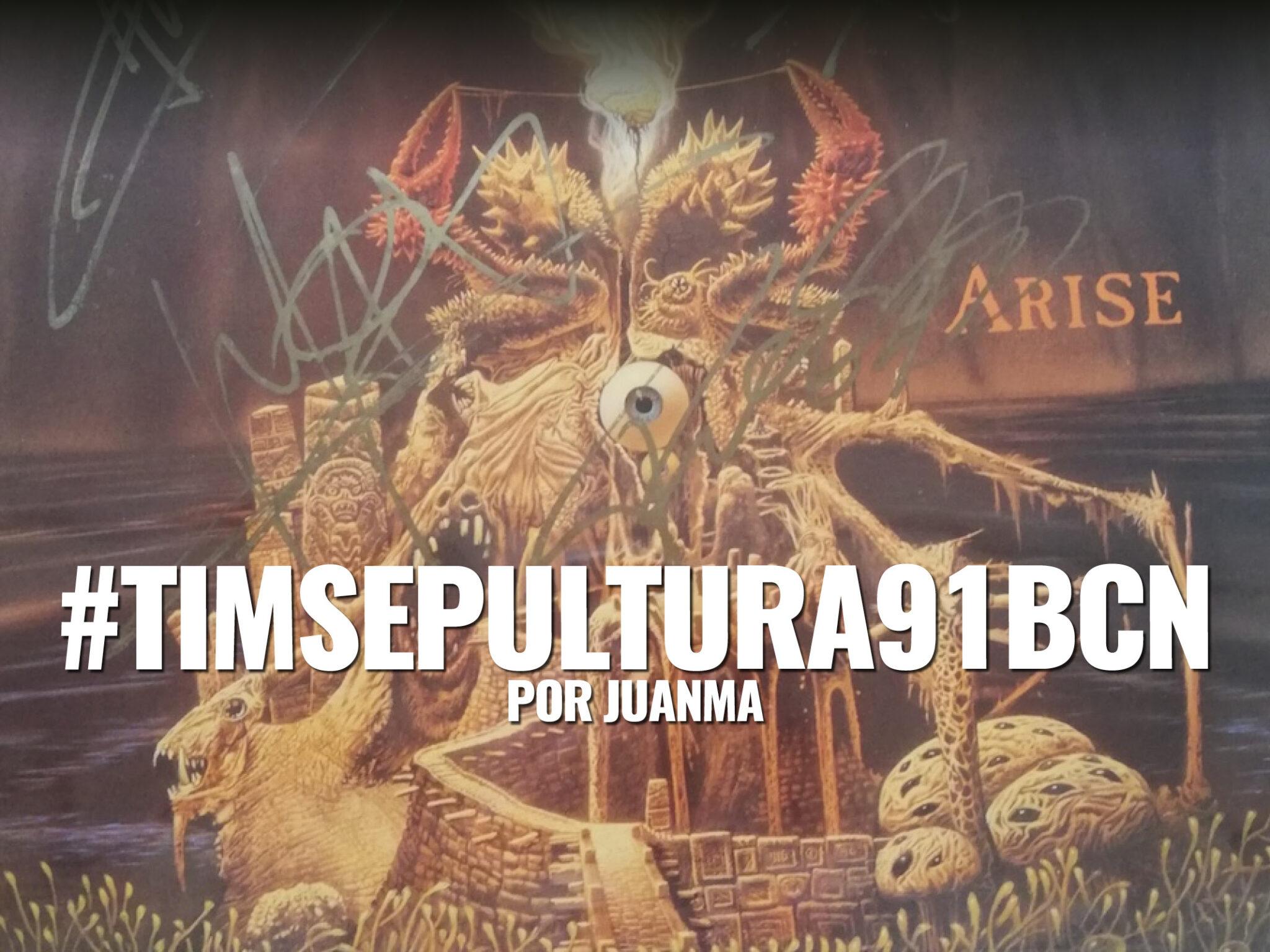 Sepultura Barcelona 1991 por JuanMa La revista con la música que es importante en tu vida Classic Rock Hard Rock Heavy Metal Prog Rock Blues